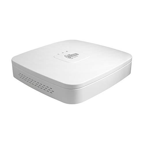 Dahua–Technology NVR IP de 8Canales 4K & H. 265a hasta 8MP 1HDD–Serie Lite