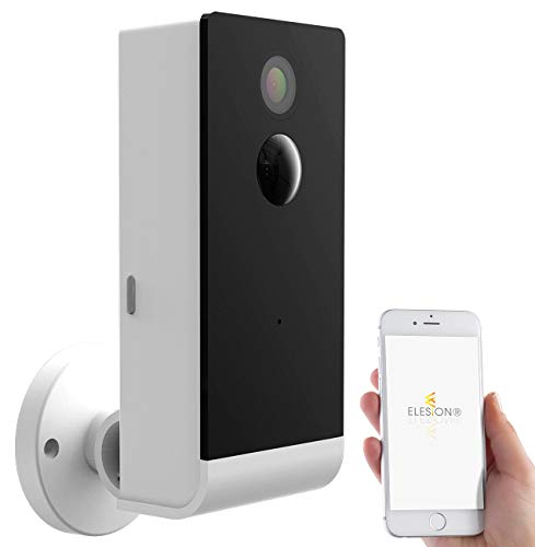 VisorTech Überwachungscamera: Full-HD-IP-Überwachungskamera mit Smarter Nachtsicht, WLAN, App, IP54 (Kabellose Überwachungskamera)