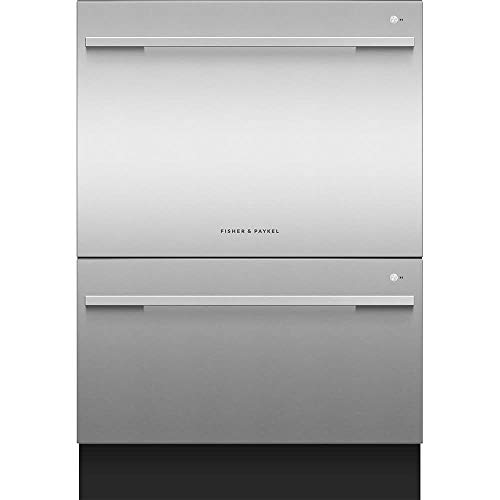 Fisher Paykel DD24DDFTX9N 24 Inch Built In Fully Integrated Dishwasher with 15 Wash Cycles, 14 Place...