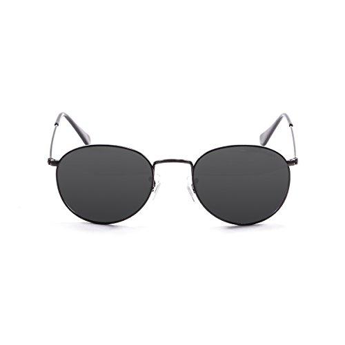 Ocean Sunglasses - Tokyo - lunettes de soleil en Métal - Monture : Noir Mat - Verres : Fumée (5200.0)