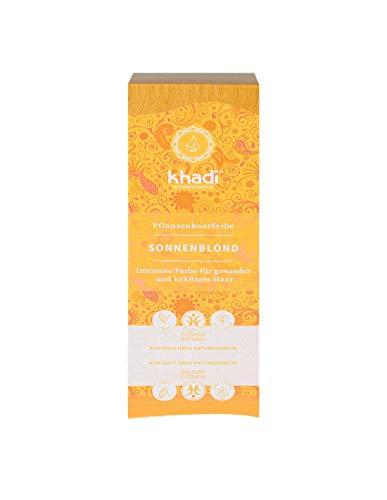 Khadi Pflanzenfarbe Sunrise Blond Sonnenblond 100 g Pulver 100 % natürlich