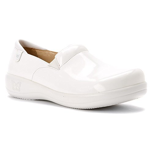 Alegria Keli Womens Professional Shoe White Waxy 13 M US