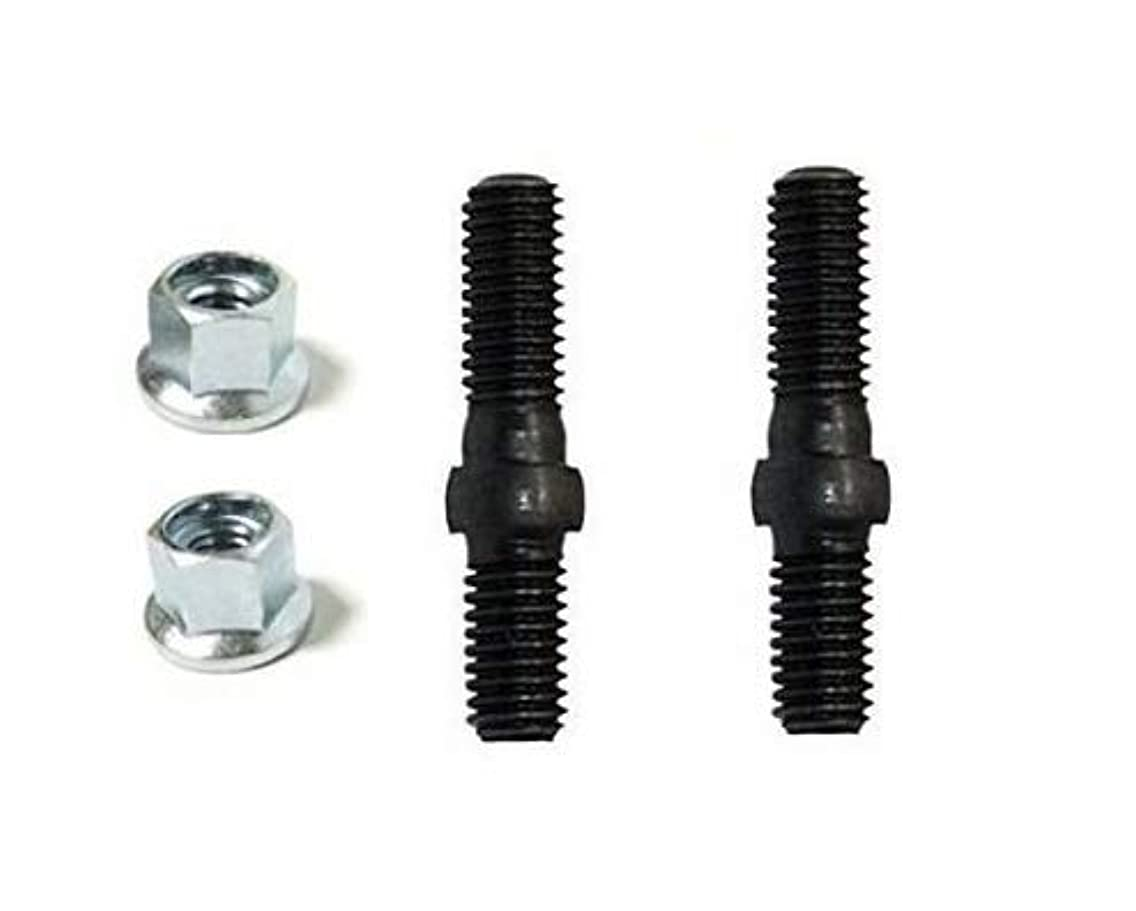 OEM Genuine Echo V224000031 / 43301903933 Bolts and Nuts (Each of 2 Pieces) Chainsaw Guide Bar Studs Bolts + (Free Two e-Books)