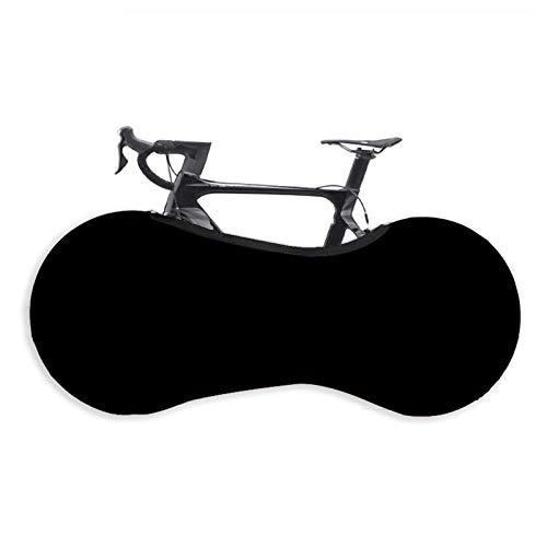 Cubierta Universal Bicicleta Interior, Alta Elasticidad Antirraya Cubierta Rueda Bicicleta para Interiores Exteriores Adecuado para Neumáticos Bicicleta Montaña, Carretera, MTB (Black,26-29 Inches)