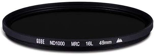 Gobe ND1000 49mm MRC 16-Layer ND Filter