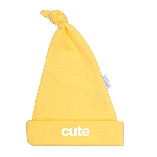 Cute Jaune Slogan Chapeau | Cool Chapeau Bébé