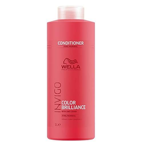 Wella Professionals Invigo Color Brilliance Vibrant Color Conditioner Fine/Normal, 1000 ml