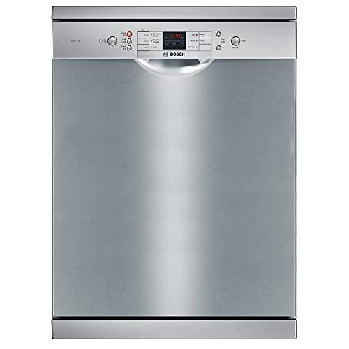 Bosch 13 Place Settings Dishwasher (SMS66GI01I, Silver Inox)