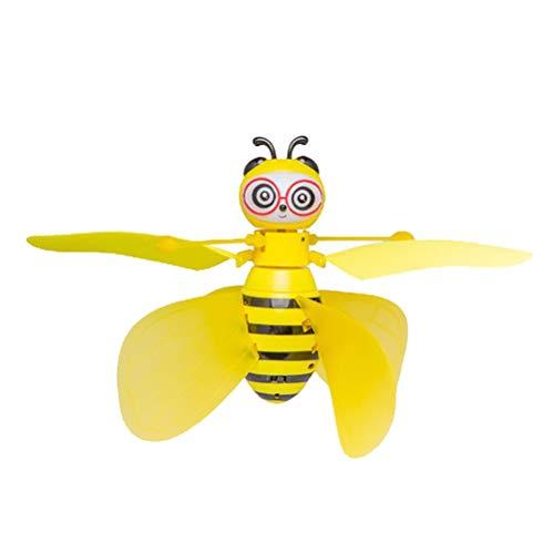Abaodam Smart Drone Bee Forma Gesture- Sensing Drone Divertente Bambini Giocattolo Aereo