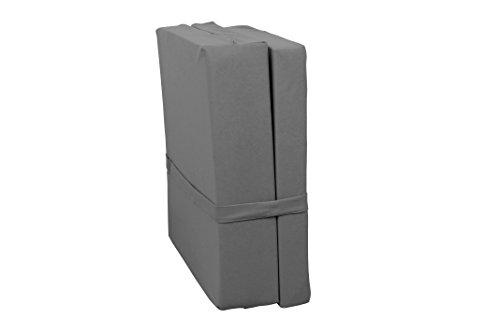 AVANTI TRENDSTORE - Micro - Materasso Pieghevole, Disponibile in Vari Colori, Dimensioni: Lap 65x7x185 cm (Grigio)