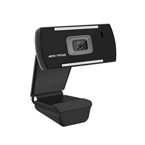 1080P Full HD Auto-Focus Webcam,Wide Angle PC Desktop USB Web Camera with Microphone for Video Conferencing,Recording and Streaming