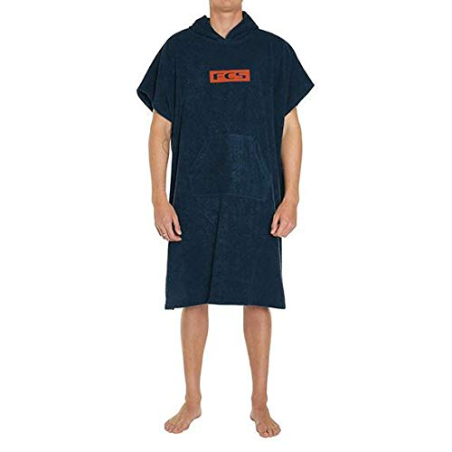 FCS Towel Poncho - Heather Navy