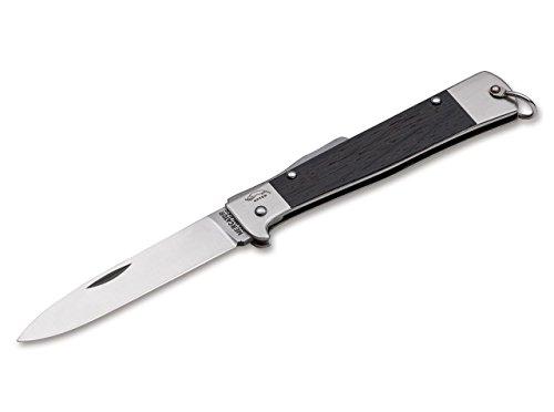 Otter Unisex– Erwachsene Mercator-Messer Räuchereiche Taschenmesser, schwarz, 20,0 cm