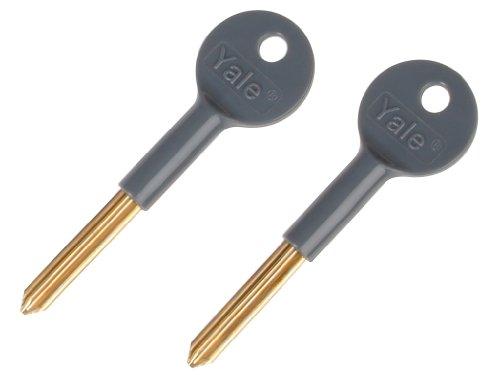 Yale V-8001K-2-WE Security Lock Keys, Pack of 2