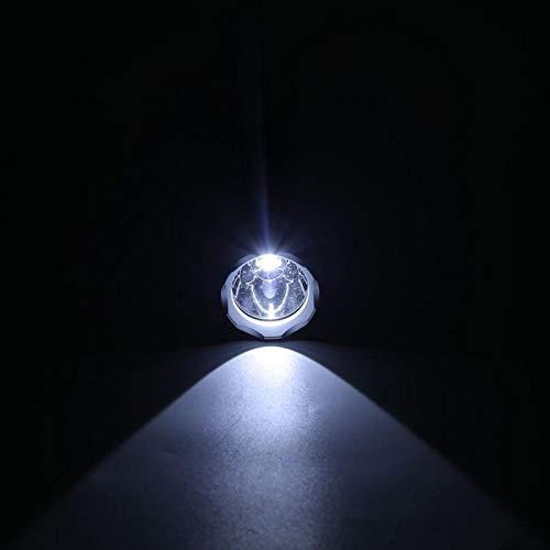 Fybida Linterna de Buceo de aleación de Aluminio, Resistente a la Intemperie, luz Brillante para Pescar Deportes al Aire Libre(P1)