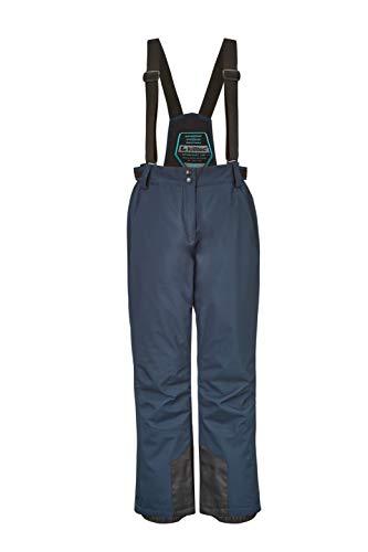 Killtec Erielle - Pantalones de esquí y Snowboard para Mujer con Peto extraíble, protección en los Bordes y paranieves, Color Azul Marino, otoño/Invierno, Mujer, Color Azul Oscuro, tamaño 34