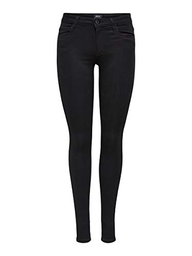ONLY Damen Skinny Fit Jeans ONLRoyal reg. L30Black