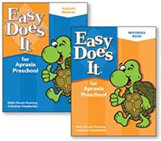 Easy Does It for Apraxia Preschool - Complete 2-Book Set
