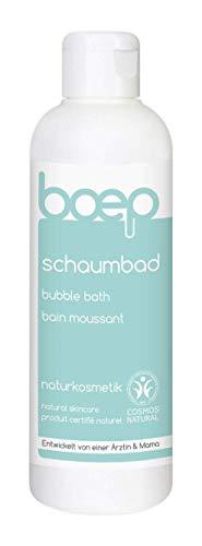 boep Schaumbad für Babys und Kinder - Naturkosmetik Badeschaum mit Bio-Ringelblume - Entwickelt von einer Ärztin & Mama (200ml)