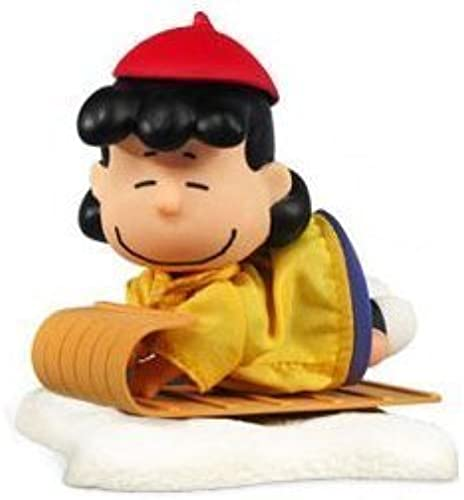 Peanuts Charlie marron Christmas Lucy Van Pelt Action Figure 2009 by Forever Fun