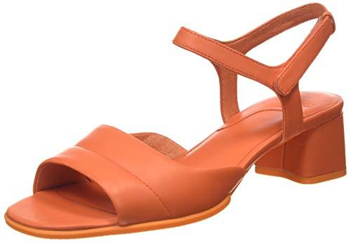 CAMPER Damen Katie Sandal Riemchensandalen, Pink (Medium Orange 810), 39 EU