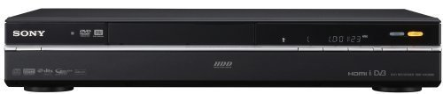 Sony RDR-HXD990 DVD Recorder/Player Grabador de DVD Negro - Reproductores de CD/BLU-Ray (10-bit/108MHz, DIVX, MP3, Negro, 430 mm, 288 mm)