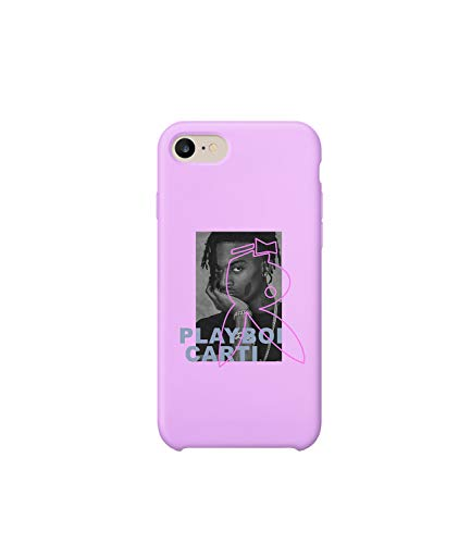 Playboi Carti Rap Music Legend Bunny Face_MA0948 Case For iPhone X/XS, Protective Phone Case Carcasa De Telefono Estuche Protector Compatible with iPhone X Phone XS