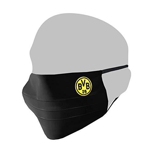 Borussia Dortmund BVB 09 BVB-MNS Maske schwarz - -