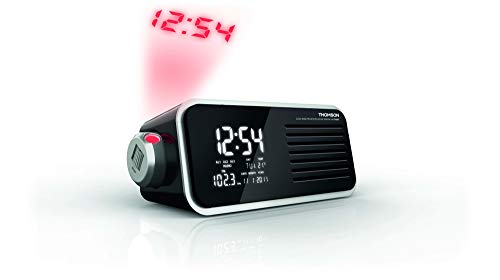 Thomson CP300T - Radio (Reloj, Digital, FM,MW, 87,5-108 MHz, 0,5 W, LCD)