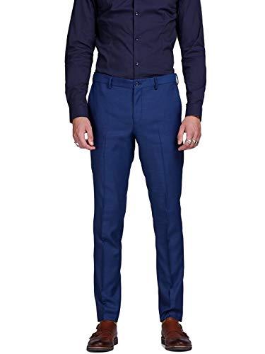JACK & JONES Herren JPRSOLARIS Trouser NOOS Anzughose, Blau (Medieval Blue Medieval Blue), W34(Herstellergröße: 50)