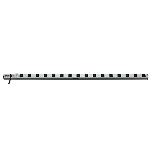 Tripp Lite 16 Outlet Bench & Cabinet Power Strip, 48 in. Length, 15ft Cord with 5-15P Plug, (PS4816)