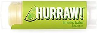 Hurraw Lime Lip Balm 4.3g, 4.3 grams