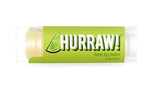 Hurraw! - Lippenpflegestift Limette - 100% bio, roh und fairtrade - 4,3g
