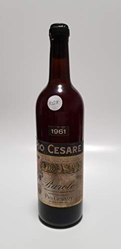 Vintage Bottle - Pio Cesare Barolo Clear Color 1961 0,72 lt. - COD. 1028