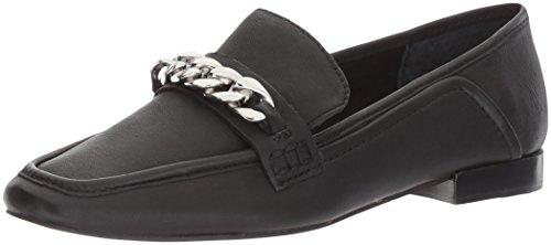 Dolce Vita Women's Cowan Loafer Flat,black leather,9 Medium US
