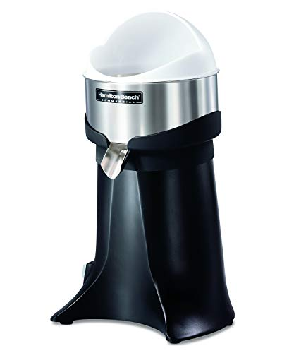 Hamilton Beach Commercial HCJ967 High Output Electric Citrus Juicer, Brushless Motor, NSF Approved