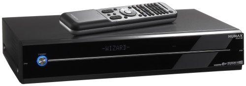 Humax iCord HD Digitaler Satelliten-Receiver (HDTV, HDMI, 500 GB Festplatte, 2x CI-Schächte, 2x Scartanschlüsse, USB 2.0) schwarz