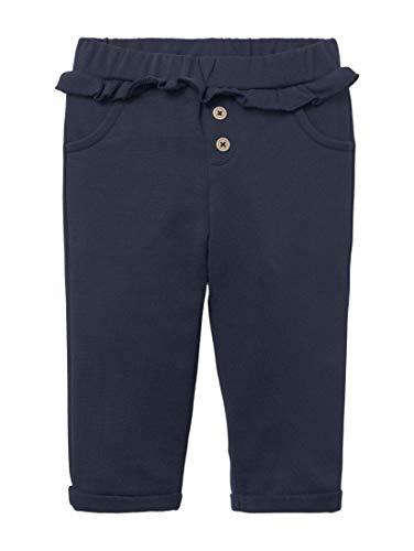 Tom Tailor Jogginghose Pantalón, Color Negro y Azul, 80 cm para Bebés