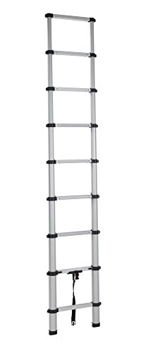 Cosco 20309T1ASE Smartclose Telescoping Aluminum Ladder, (300-Pound Capacity, 8.5 ft. ladder with 12 ft. Max Reach)