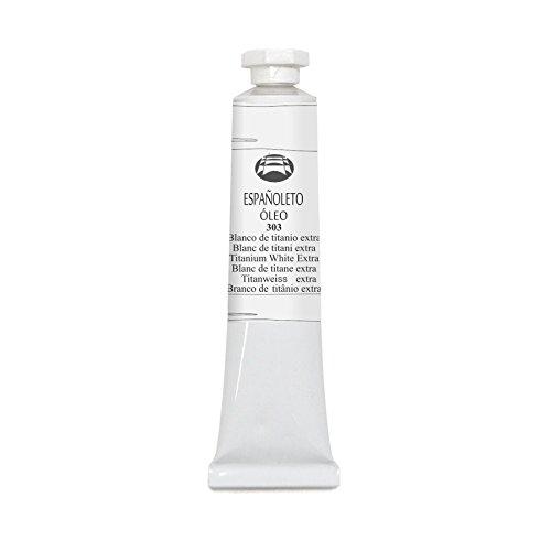 Lienzos Levante Óleo Españoleto, Tubo de 20 ml, 303 Blanco de titanio extra