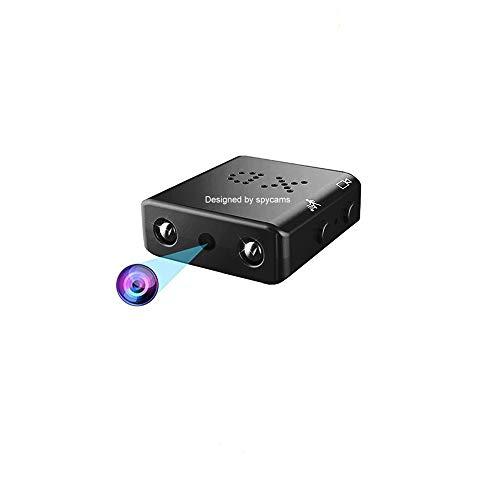 Mini Caméra Espion Supoggy HD 1080P Caméra sécurité avec Vision Nocturne, Détection de Mouvement pour Utiliser à la Maison, en Voiture, au Bureau ou à l Extérieur