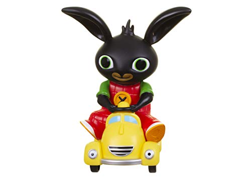 Bing- Taxi de Talkie chirriante, 10 x 17 x 28 cm (Golden Bear Toys 3543)