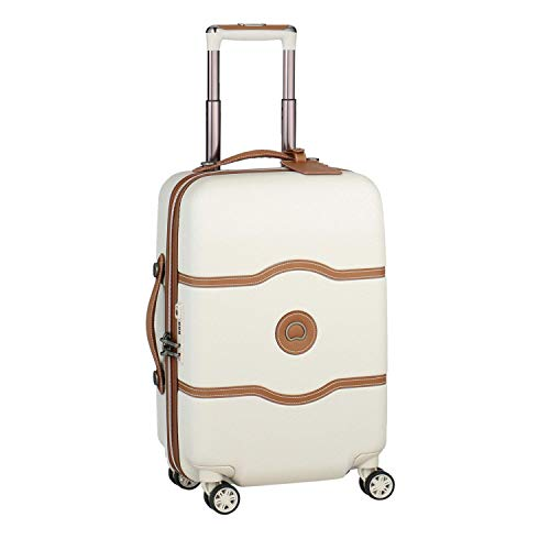 DELSEY Paris Chatelet Air Equipaje de Mano, 55 cm, 39 Liters, Blanco...