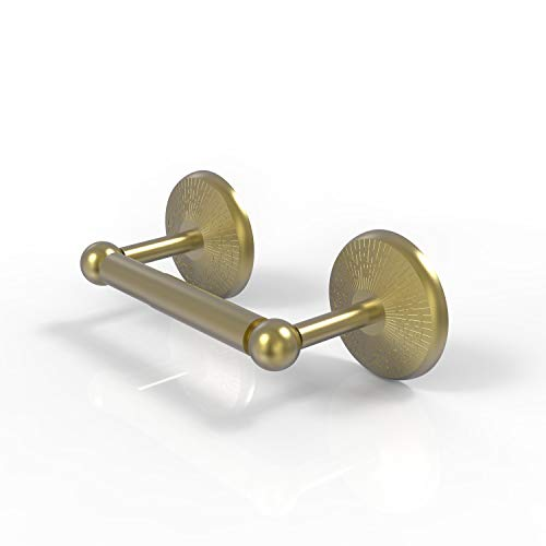 Allied Brass PMC-24-SBR Prestige Monte Carlo Collection 2 Post Tissue Toilet Paper Holder, Satin Brass