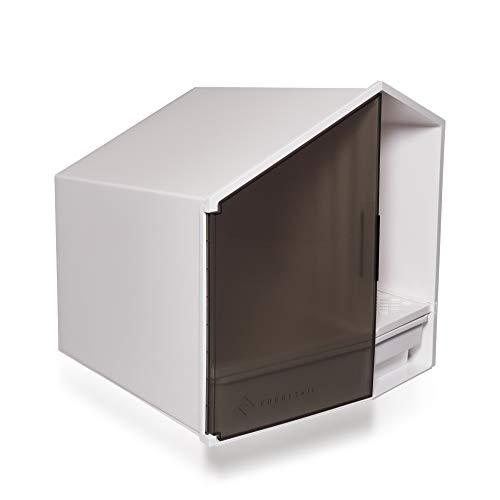 DiaDorn Moderne Designer Katzentoilette | Stylisches Luxus Katzenklo