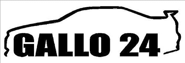 GALLO 24 R34 GTR Decal- {Black} 5