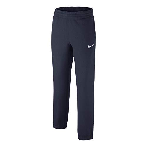 Nike Kinder Hose N45Core BF Cuff Pant YTH M ,blau (dunkel blau/Obsidian/White)