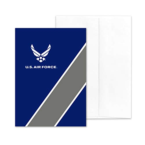 2MyHero - US Air Force - Military Appreciation Greeting Card With Envelope - 5' x 7' - Look Good (Blank Inside)