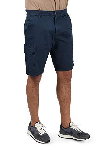Blend Barni Herren Cargo Shorts Bermuda Kurze Hose, Größe:XXL, Farbe:Navy (70230)