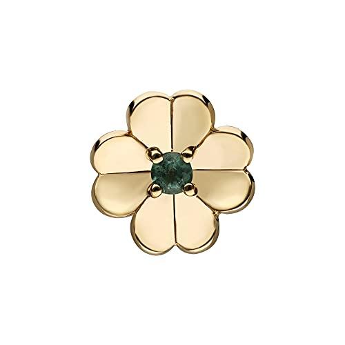 Gardenia - Pin de trébol esmeralda